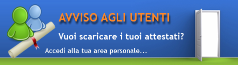 Accedi all'area corsisti